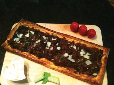 French onion tarte : Bingley Rural Magazine
