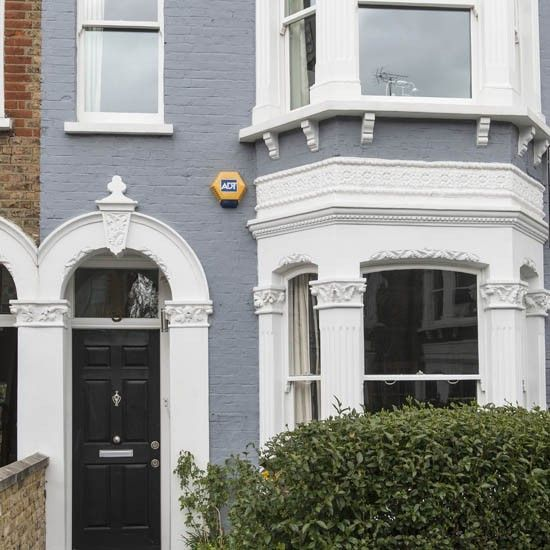 Image result for painted georgian terraced house london