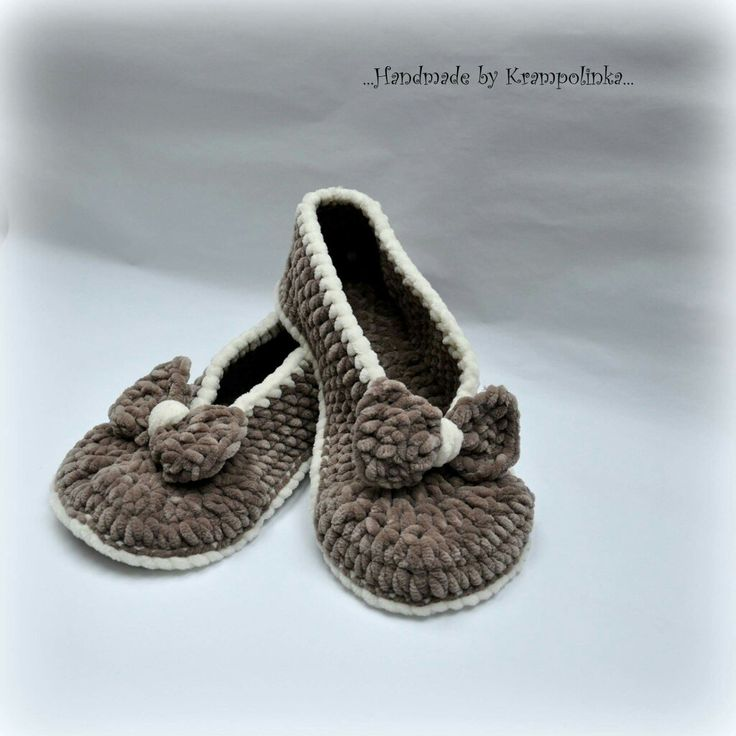 Home cozy crochet adult slippers free pattern