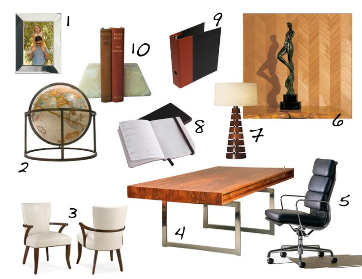 office decor desk and chair mad men furniture
