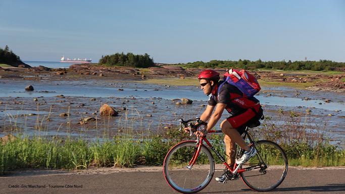 En vélo sur la Route des baleines