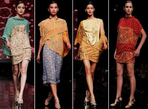 Beautiful batik from Indonesia with Chinese ceramics motives