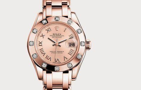 Increibles relojes para dama | Lujo y belleza en relojes Rolex para mujeres
