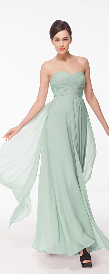 pastel green bridesmaid dresses long bridesmaid dress for beach wedding
