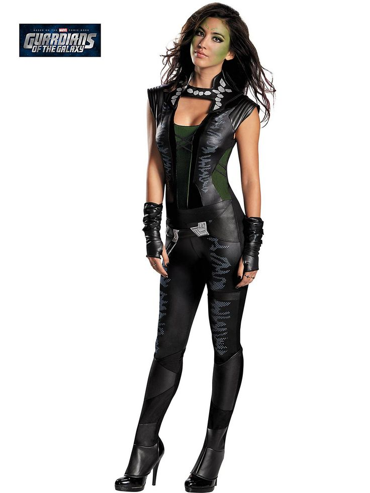 Gamora Deluxe Adult Costume  Wholesale Guardians Of The -8300