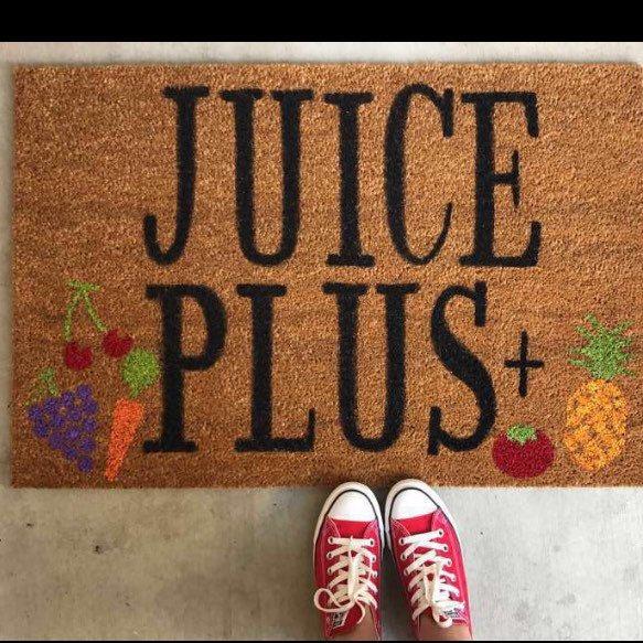 Juice Plus Custom Doormat Juice Plus/Healthy Living / Juice Plus Revolution for only $45.00