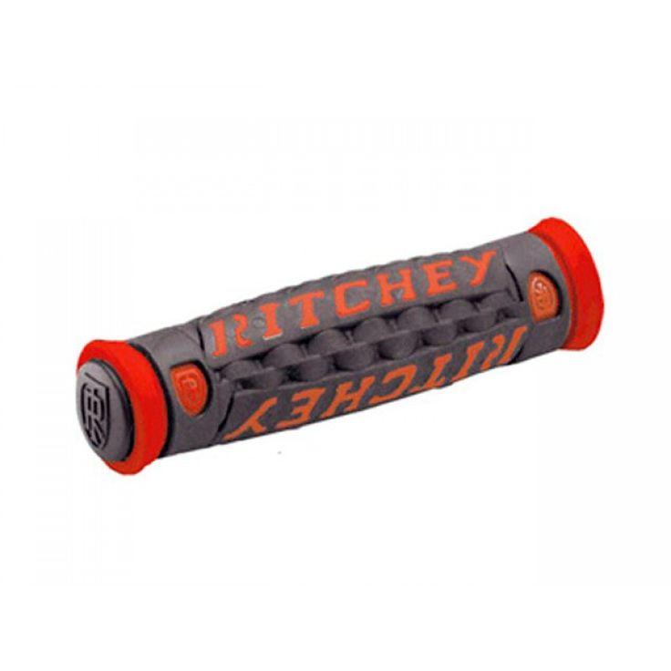 Ritchey Pro True Grip TG6 MTB Handlebar Grips Red/Black