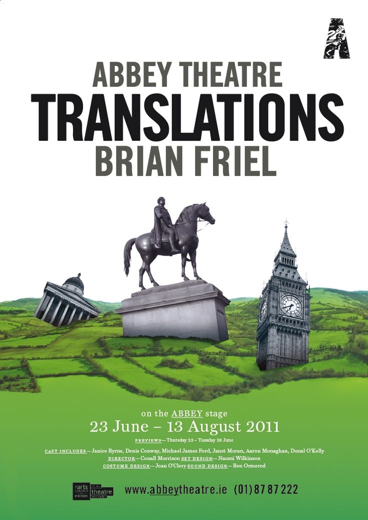 an introduction to the analysis of brian friels translations Translations for a-level english lit including revision notes, revision guides and question banks.