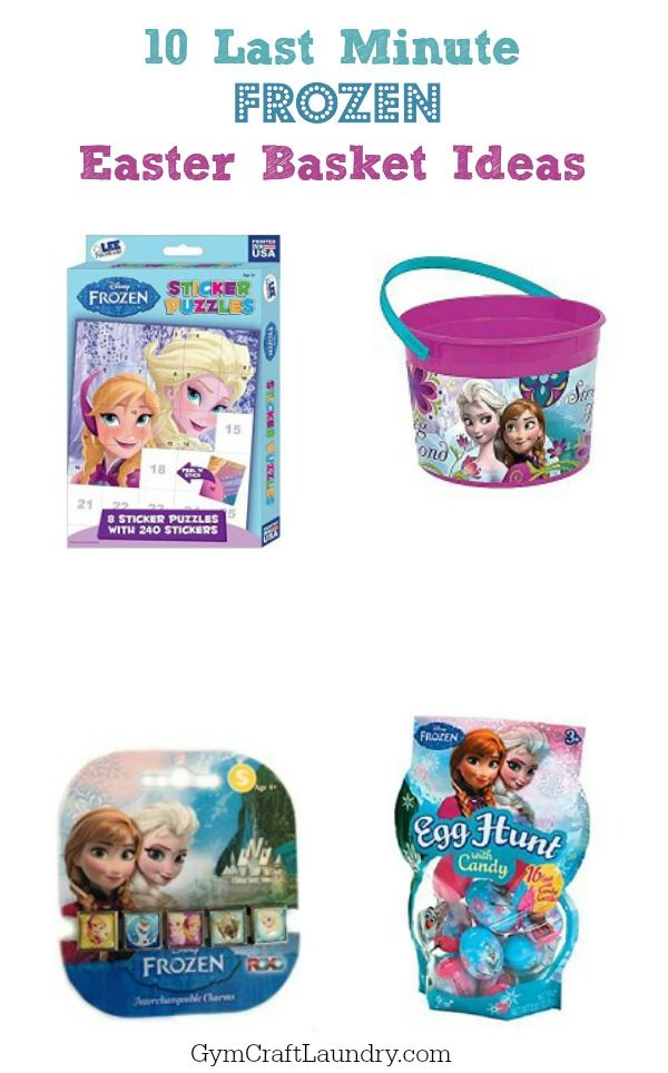Best 25 frozen easter basket ideas on pinterest frozen gift last minute frozen easter basket ideas negle Image collections