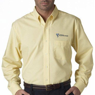 25 best business uniforms embroidered dress shirts for Custom company polo shirts