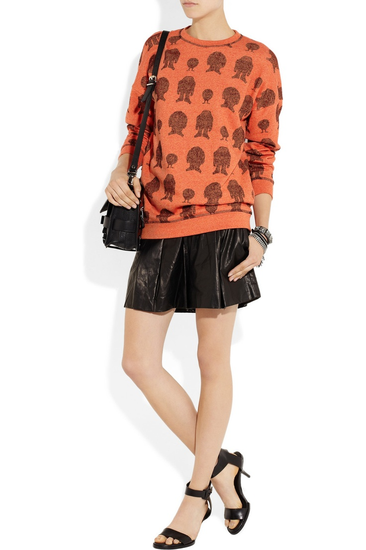 Mulberry | Printed cotton sweater | NET-A-PORTER.COMCotton Sweaters, Mulberry Prints Cotton, Cotton Sweaternetaportercom
