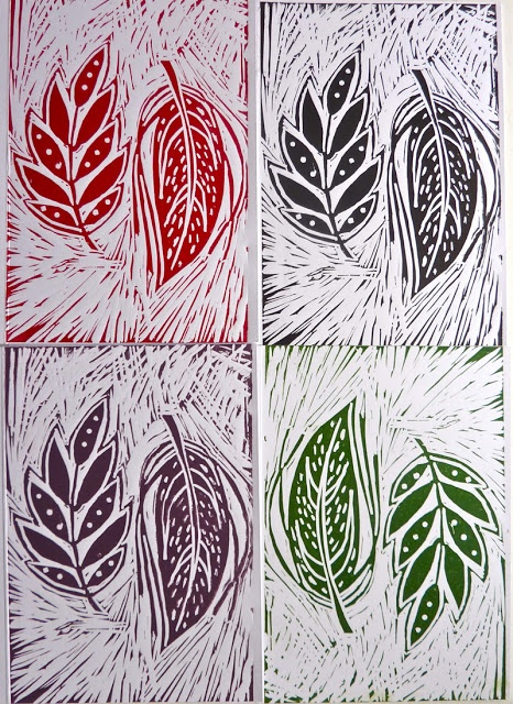 Hello Sugar Cane: Lino Printing Course : Bar Lane Studios York