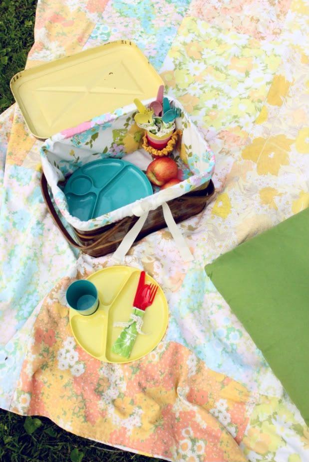 Vintage picnic