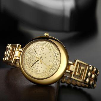 Reloj Pulsera Acero Inoxidable Mujeres Dorado IFone