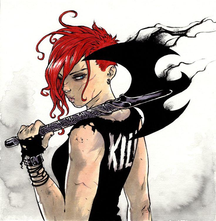 killer by mooncalfe.deviantart.com <--- I love her hair!