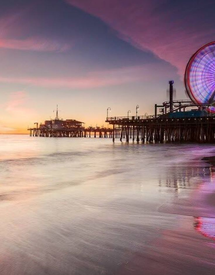 Santa Monica- for phone screen saver