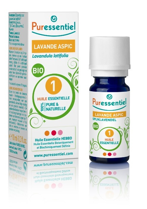 Recette arthrose : Mettez 3 gouttes d'huile essentielle de lavande aspic sur la zone douloureuse 3 fois par jour pendant 12 jours.
