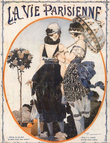 Rene Vincent 1919 Elegant Parisiennes