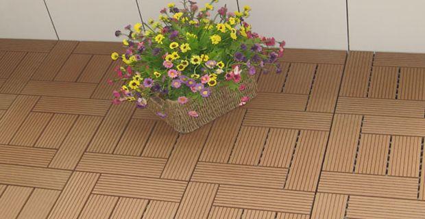 Holz-Kunststoff-Verbundwerkstoff (WPC) Fliese ist ein umweltfreundliches Verbundmaterial aus…