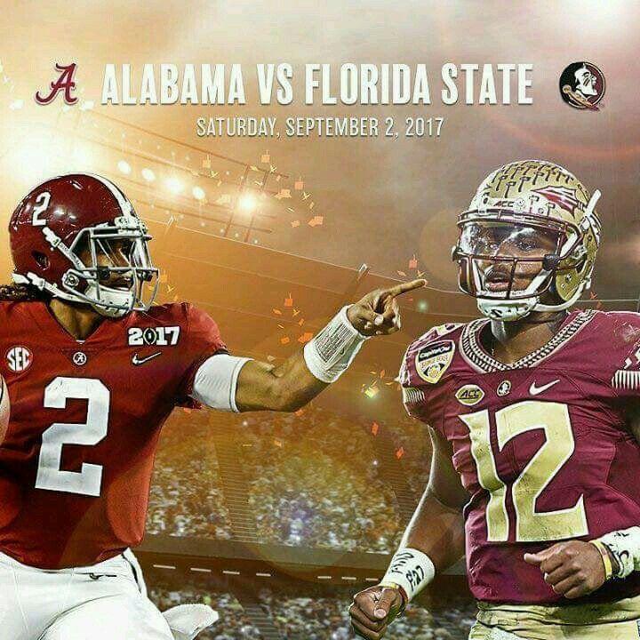 ALABAMA vs Florida State University