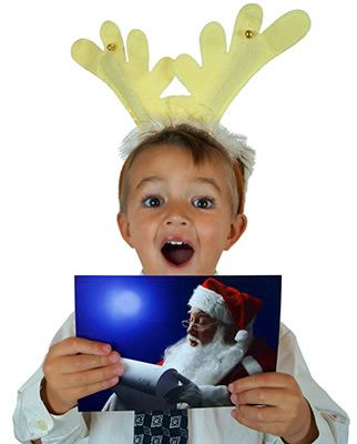 FREE Postcard from Santa - Order today!! Your kids will be so excited to receive a personal postcard from #Santa