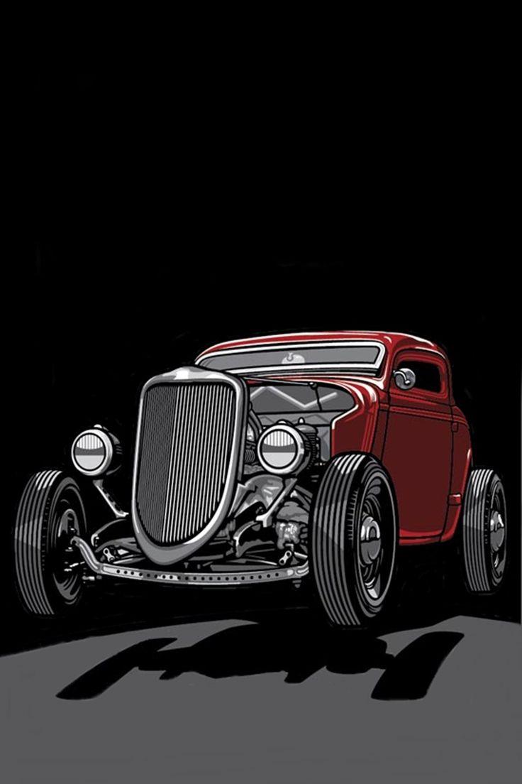 71 best poster Art hot rod rockabilly images on Pinterest ...
