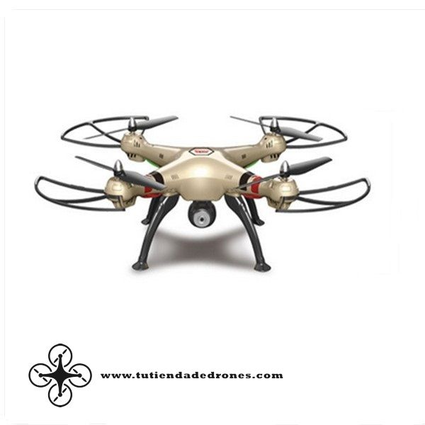 Syma X8HC With 2MP HD Camera 2.4G 4CH 6Axis Altitude Hold Headless Mode RC Quadcopter RTF -- 91,72€