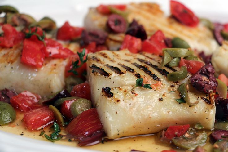 Grilled Bacalao (Salt Cod) Steaks with Olive Sauce  | Jacques Pepin – Heart and Soul | KQED Food | from #JPHeartandSoul