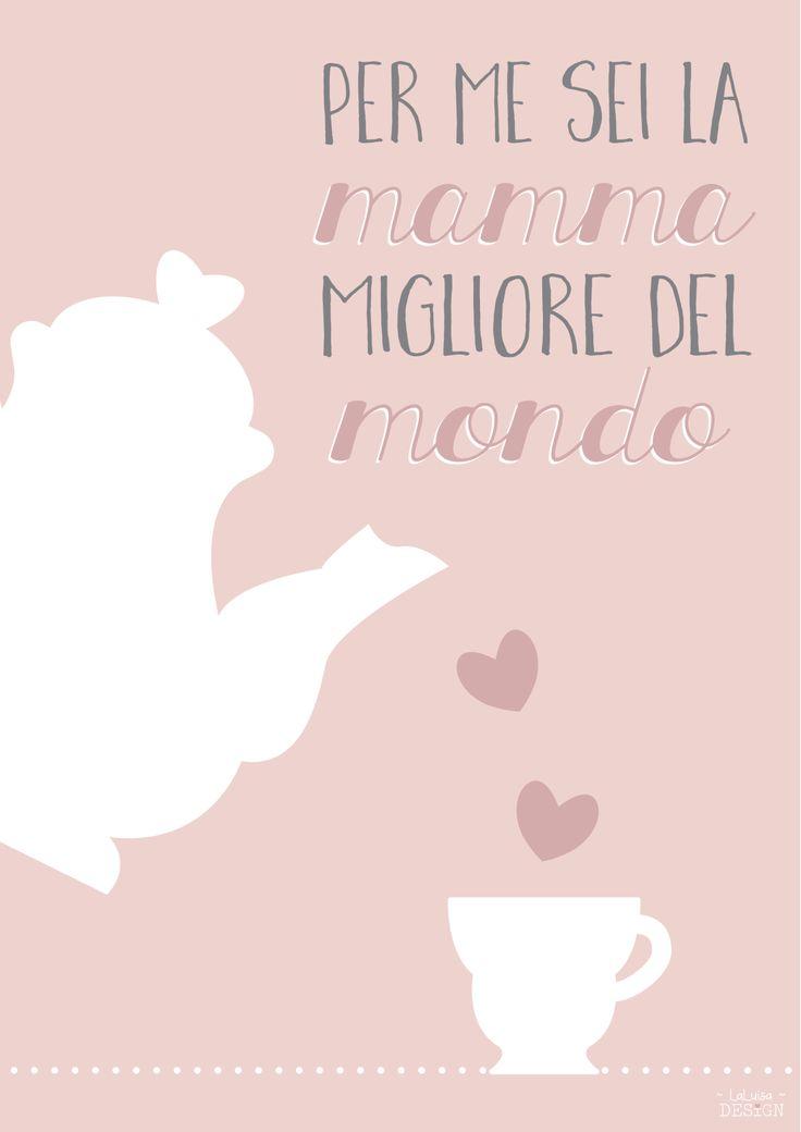 festa della mamma free printable