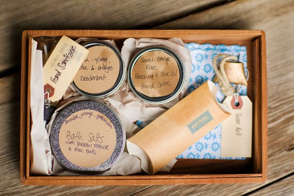 homemade bridesmaid gifts, so so sweet