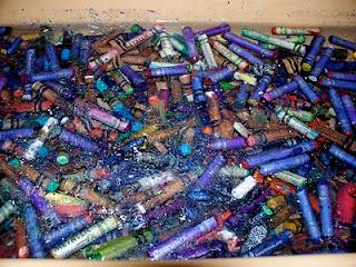 Creating Art: Homemade Crayons  A much better way of getting those wrappers off!Art Teachers, Create Art, Art Class, Kids Crafts, Homemade Crayons, Teachers Ideas, Art Room, Art Education, Art Projects