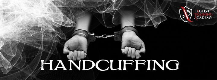 Active Training Academy has a Handcuffing course starting near you! Book your place before spaces run out!