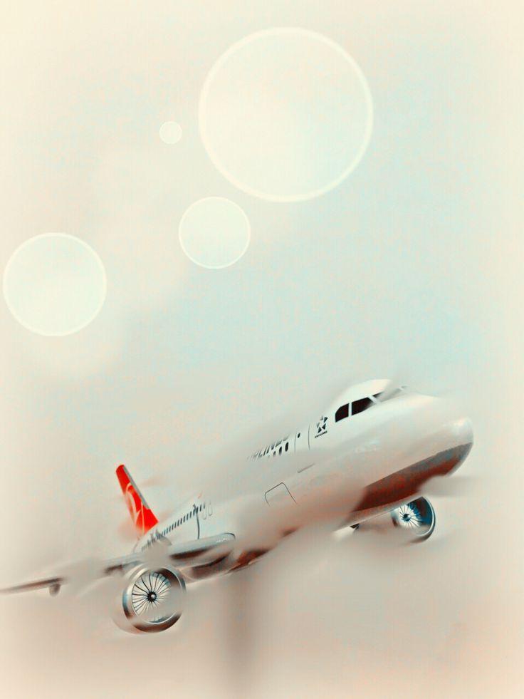 Flying Of Turkey