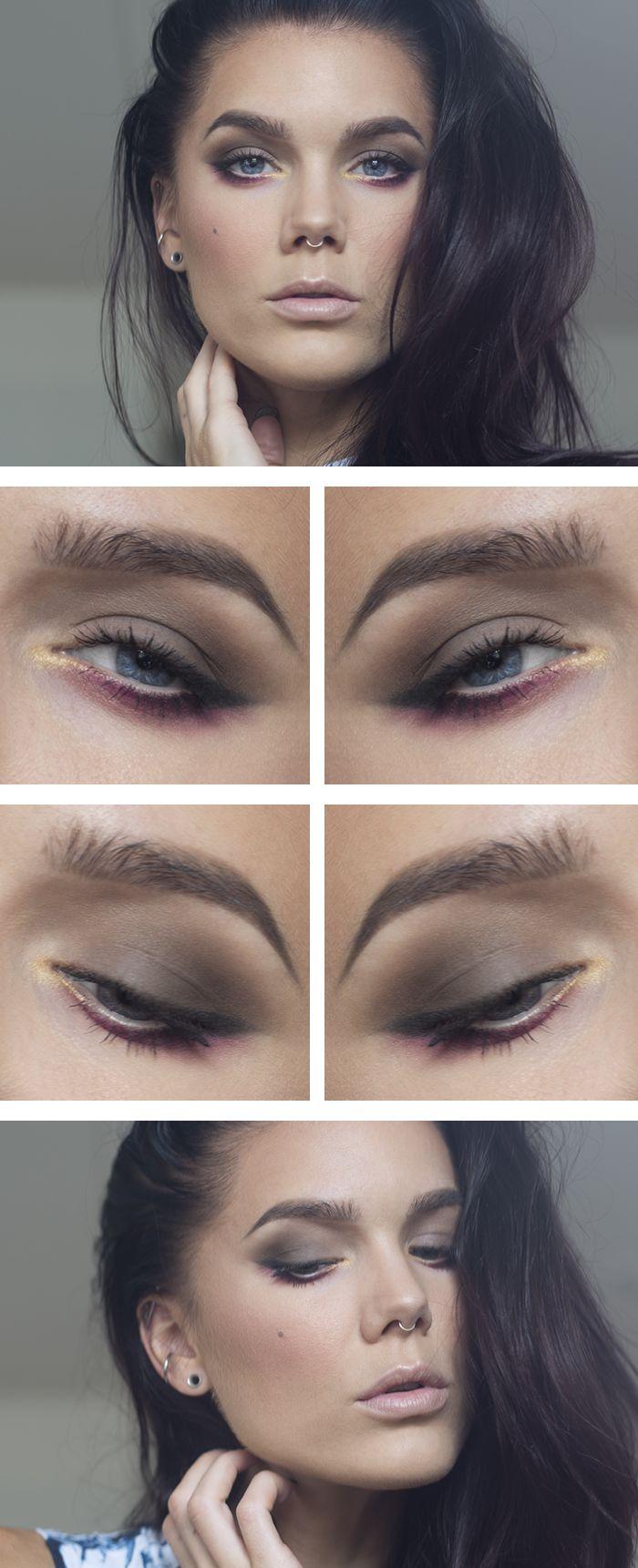 31juli MAC eyeshadow quad Maleficent MUS Lippencil Road trip Oriflame the one mascara MAC lisptick japanese maple NARS blush Orgasm Anastasia Contour kit