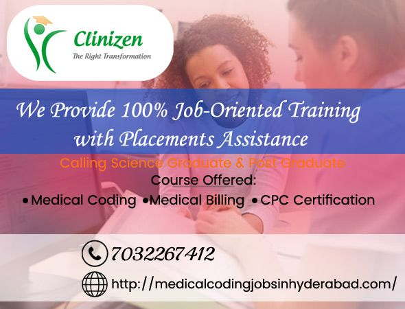 Leading Medical Coding Freshers job offers in Hyderabad. we are Looking for Candidates for Medical Coding Industry. We offer Medical Coding Trainee Jobs in Healthcare MNC's. Medical Coding jobs in Middle East