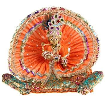 Poshak vastra shringar set for bal gopal::Lord krishna::Thakorji