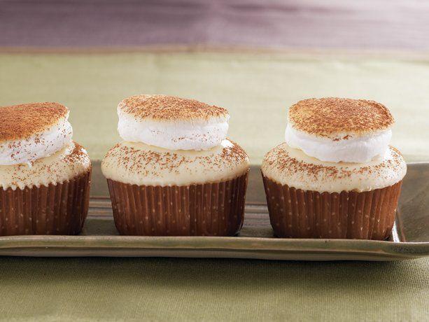 White Hot Chocolate Cupcakes by Betty Crocker! - YUMMY!