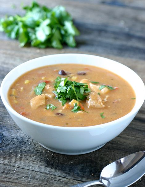 Chicken Enchilada Soup - If you like chicken enchiladas, you'll love ...