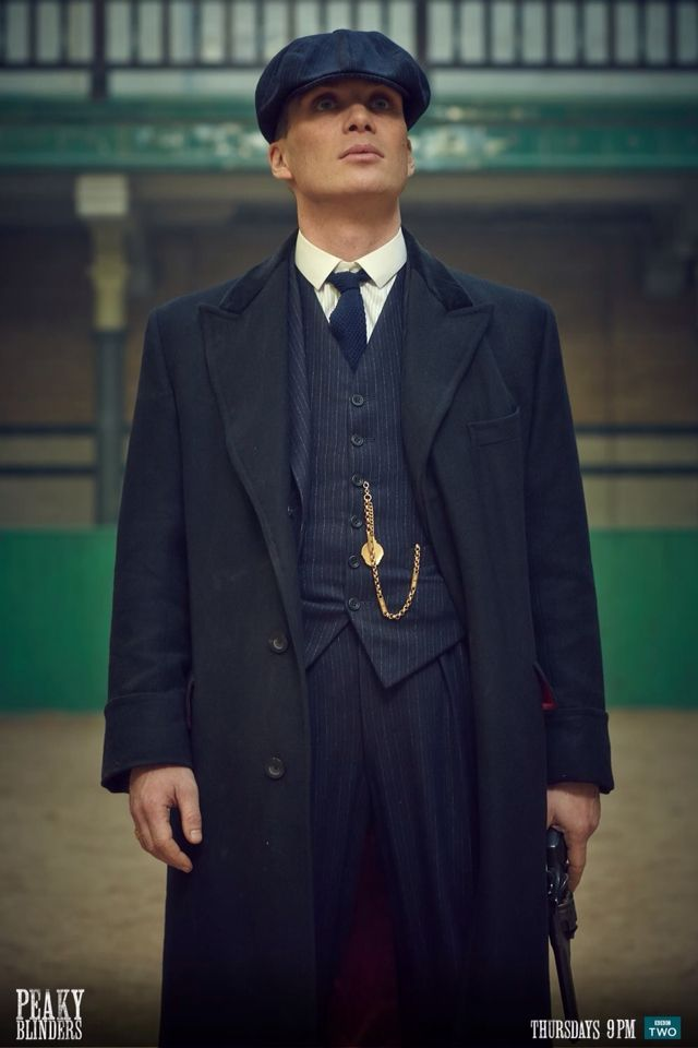 Cillian Murphy looks so hot as a Peaky Blinder