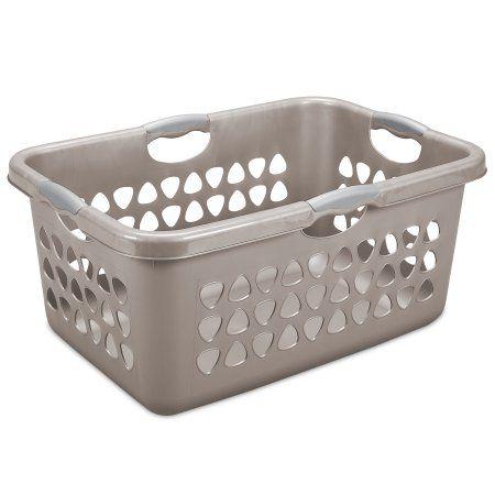 Sterilite 2 Bushel Laundry Basket Taupe Splash Available In Case Of 4 Or Single Unit Gray Laundry Basket