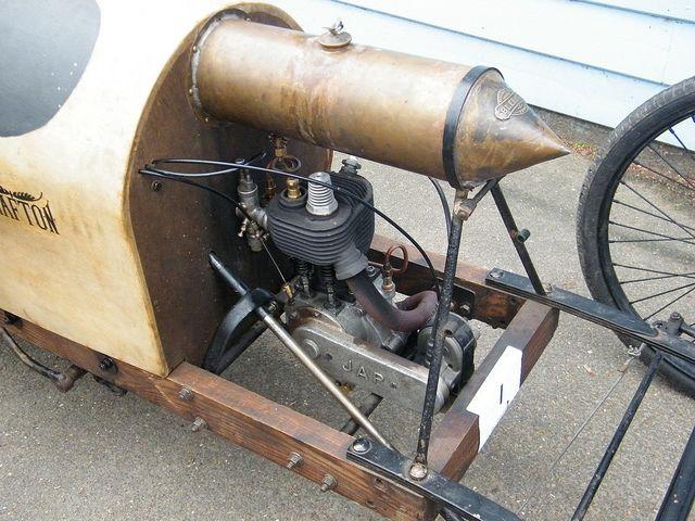 Jap Single Cylinder Engine Grafton Cyclecar Lets Race