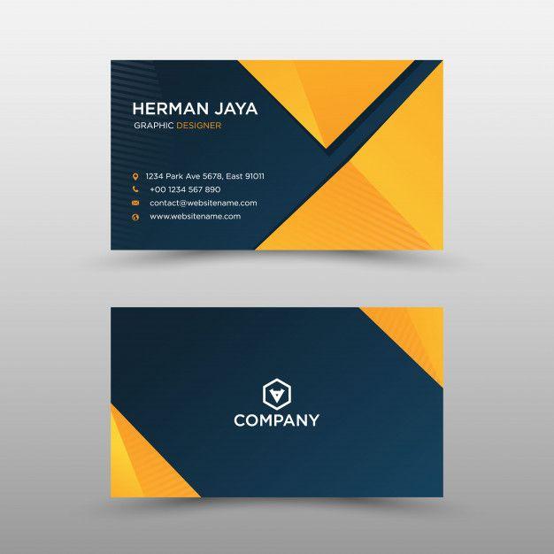 Modern Professional Business Card Business Card Design Creative Professional Business Cards Graphic Design Business Card