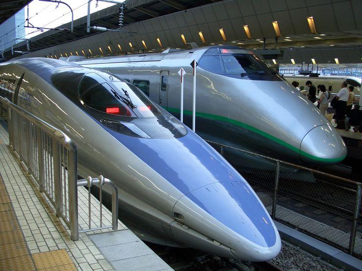 Trem Bala | Bullet train, Tokyo, Japan