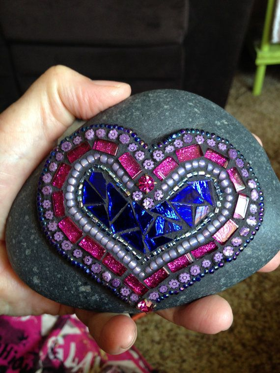 Mosaic Rock of Love