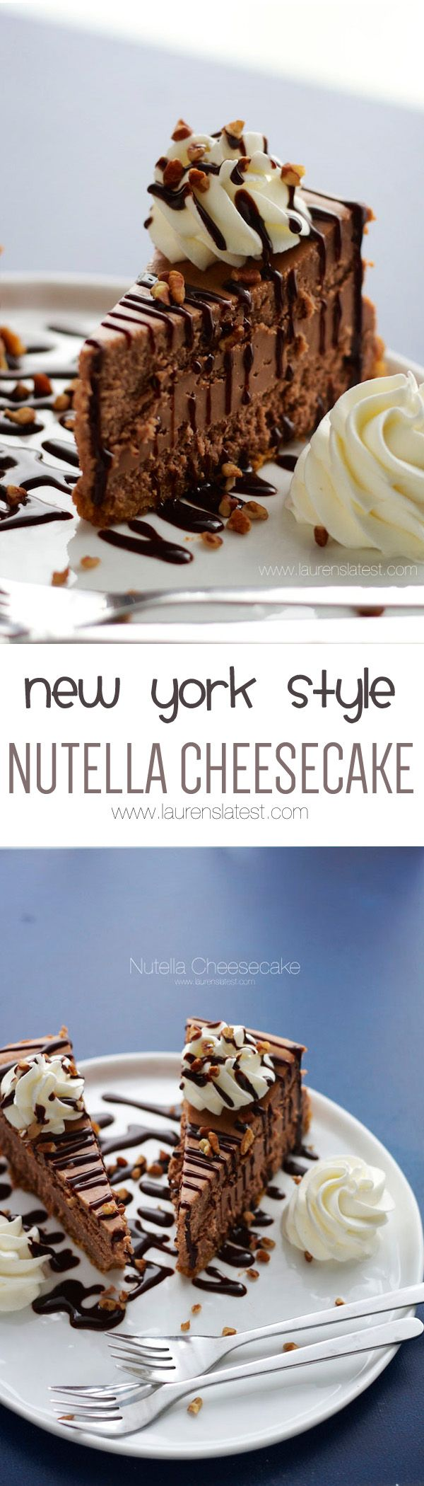New York Style Nutella Cheesecake