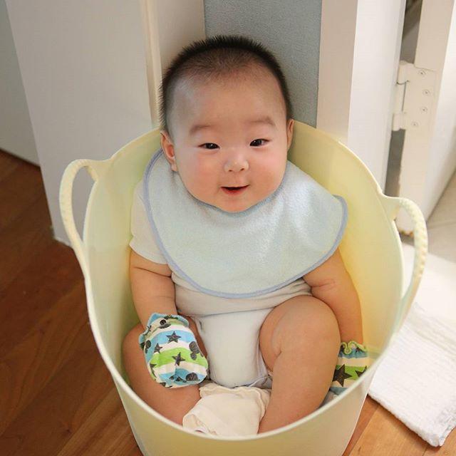 목욕 대기 중인  대한이~^^ #songdaehan
