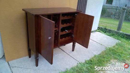 Barek / Komoda lite drewno, meble, salon, wnętrze  Wymiary: 120x50 h110 cm,