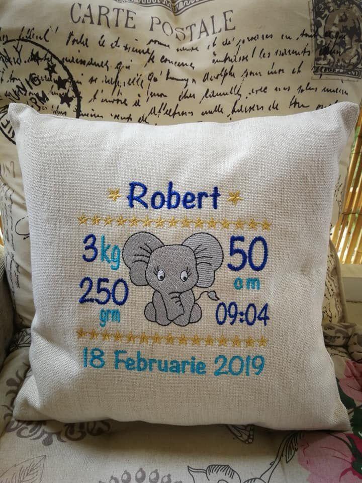 PIRATE SHIP. Birthday Gift Personalised Boys Cushion Handmade New Baby
