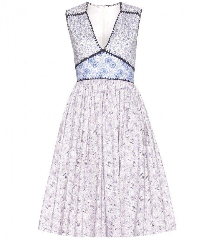 Miu Miu Cotton dress