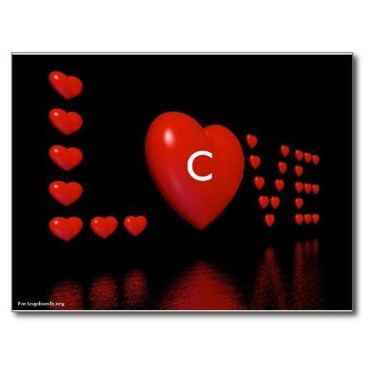 129 best Valentine Alphabets images on Pinterest